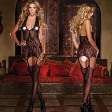 Sexy Mesh Lingerie Sets Babydolls Underwear Bodysuits