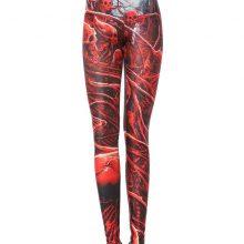 Printed Women Skinny Sexy Long Fitness Legging