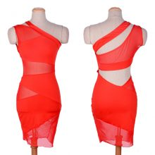 Sexy Mini Nightclub One Shoulder Bandage Dress