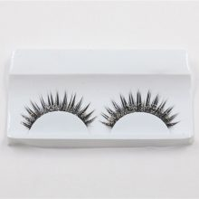 1 Pair Exaggerated Nightclub Makeup Fashion glitter fake eyelashes