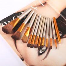 12 Pcs Cosmetic Eyeshadow Concealer Makeup Brushes Set Tools Kit