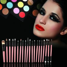 20 Pieces Kit Professional Make-up Brushes Pack