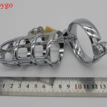 Alloy Metal Virginity Cock Chastity Devices Cages Crossdresser Sissy lock