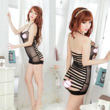 Sexy Mesh Black Underwear See Through Lingerie