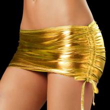 Sexy Mini Skirt PU Leather Club Short