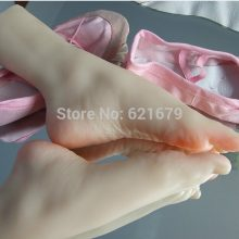 Foot Fetish Toys Solid Silicone Fake feet
