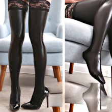 Bondage Erotic Lingerie Lace Stockings Underwear for crossdressers