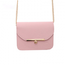 Luxury PU Leather Chain Bag