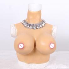Silicone Artificial Breast Form Vest Suit