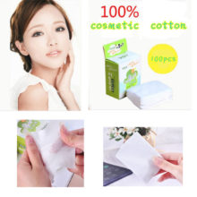 100 pcs Cosmetic Puff Pads Makeup Cleaning