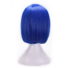 Kinky Synthetic Blue Wig Crossdresser & Shemales