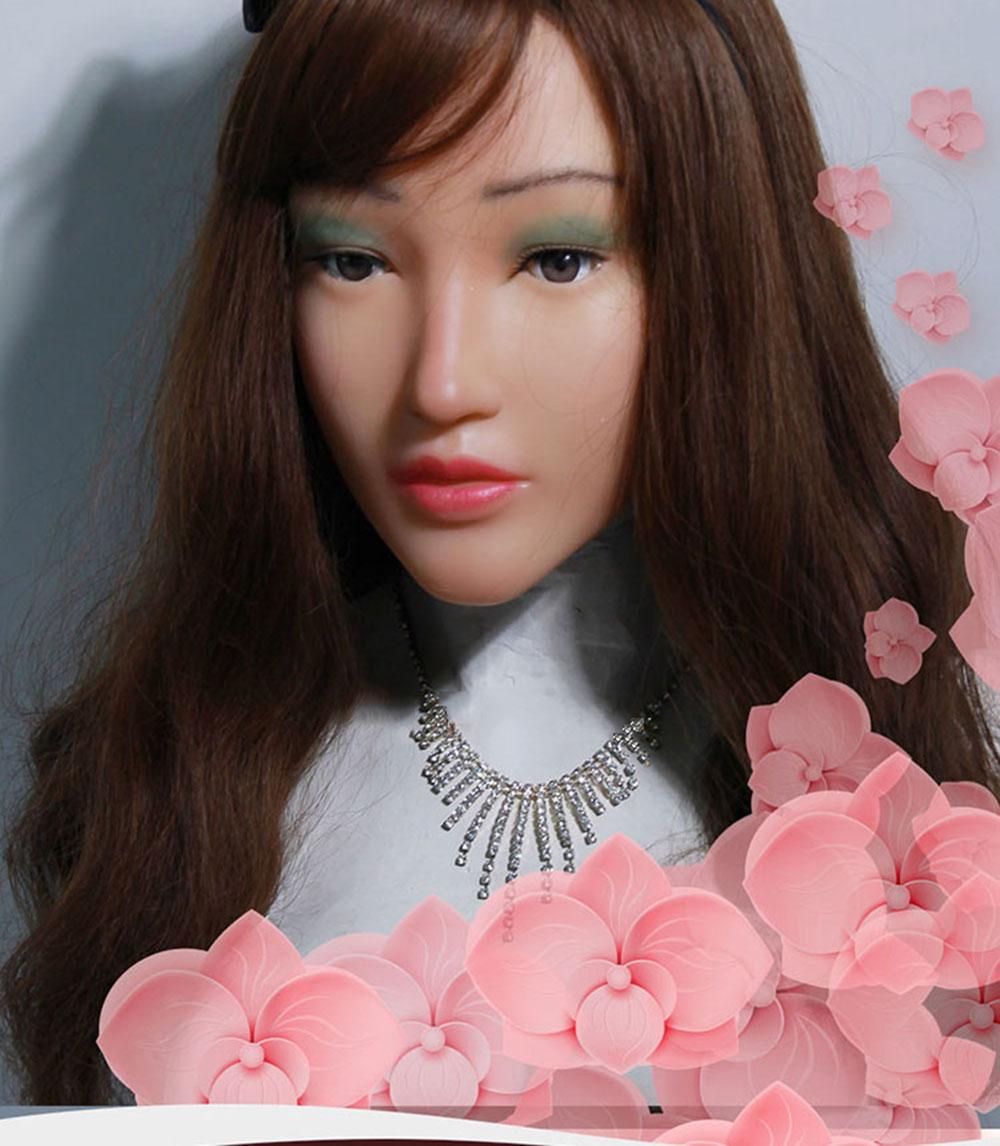 Female Silicone Masks For Transgenders Crossdresser