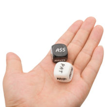 Black White Sex Dice Foreplay Adult Games
