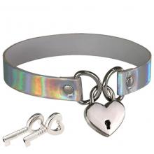 Necklace With Key Collar Lock Slave Bondage