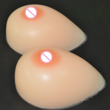 Cup A 500g Silicone Artificial Fake Breast forms