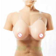 1000g 34DD/36D-38C Silicone Fake False Breast chest prosthesis