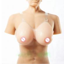 1600g 40DD/42D-36F Silicone Fake False Breast