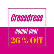 3 Products 26% OFF Crossdress Beginner Set Combi Deal