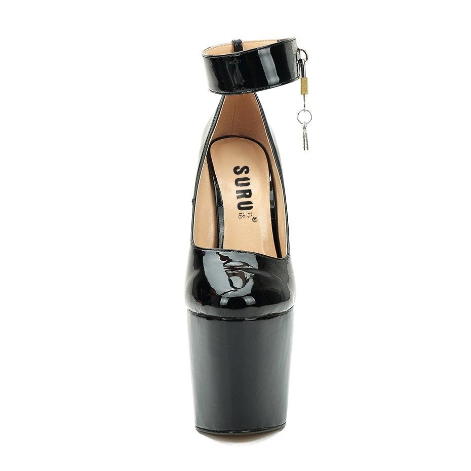 SURU Ankle Strap with Lock Details Sexy Killer 22cm/8.7