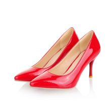 MORAZORA Big Size 34-46 2019 New Fashion high heels women pumps thin heel classic white red nude beige sexy ladies wedding shoes