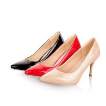 MORAZORA Big Size 34-46 2019 New Fashion high heels women pumps thin heel classic white red nude beige sexy ladies wedding shoes