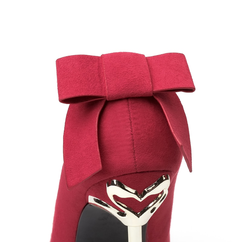 2018 Woman Extreme 10cm High Heels Scarpins Pumps Stiletto Green Shoes Female Flock Velvet Pointed Toe Fetish Metal Tacons Heels