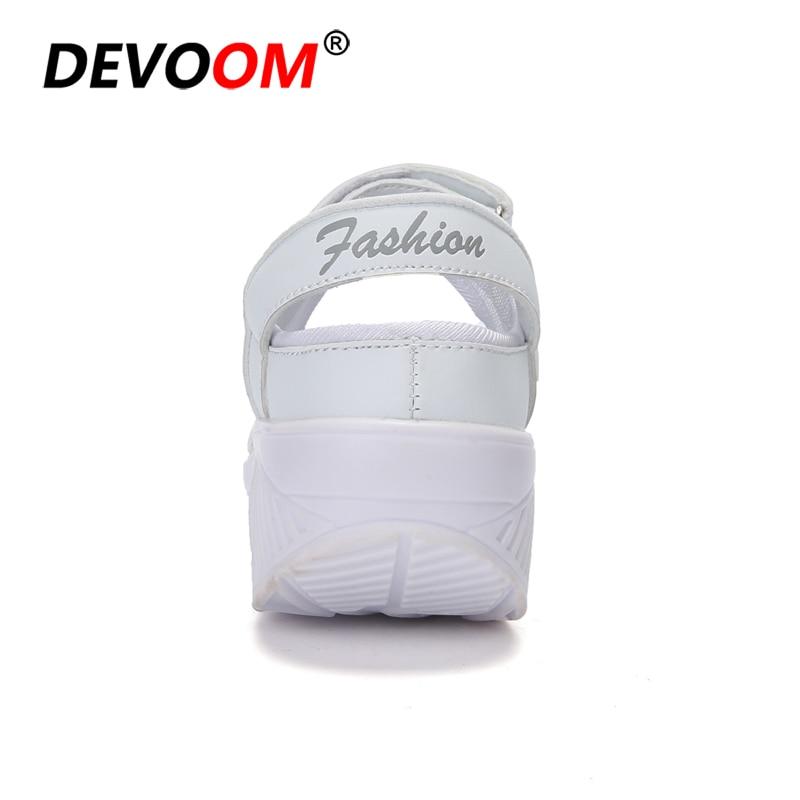 Summer Fashion Nurse Shoes Ladies Air Cushion White Sneakers Women Platform Shoes 2018 New Lolita Shoes Swing Hot Sale Big Size