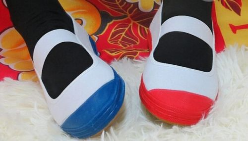 5 Colors Japan/Japanese JK School Uniform Uwabaki Shoes Indoor Shoes Cosplay Flat For Lolita Sweet Girls