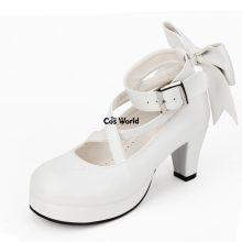 Puella Magi Madoka Magica Kaname Madoka Lolita Platform Pumps High Heels Cosplay Shoes Any Size