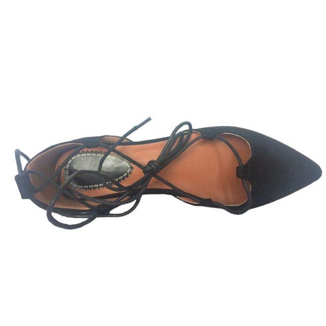 TIMETANG High Quality New 2017 Slim Sexy Pointed toe Flats Shoes Women Flat Heel Fashion Womens Flats Brand Shoes Plus Size C254