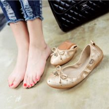 2018 Egg Roll New Boat Shoes Woman Flat Loafers Women Elegant Sexy Shoes Striking Soft Bottom Light Shallow Europe High Quality