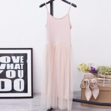 [CHICEVER] 2019 Sexy Off Shoulder Summer Women Dress Female Loose Spaghetti Strap Mesh Ladies Party Dresses New Clothing