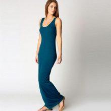 2019 Elegant Women Sexy Dress O-Neck Sleeveless Slim Maxi Dress High Stretch Tank Robe Spring Summer Thin Long Dress Vestidos