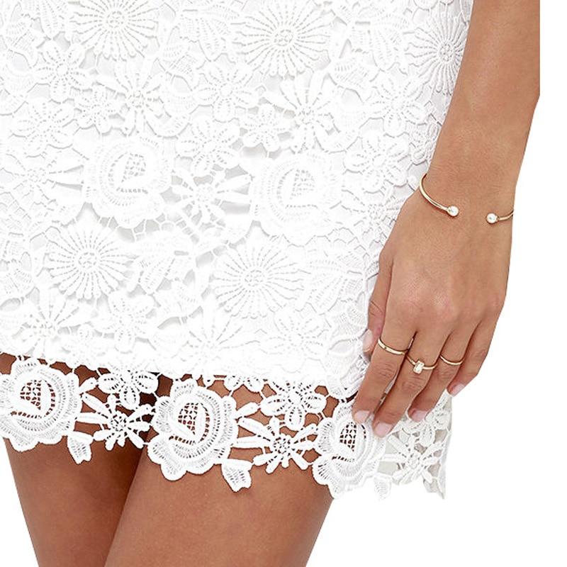 Berydress Womens Elegant Wedding Party Sexy Night Club Halter Neck Sleeveless Sheath Bodycon Lace Dress Short