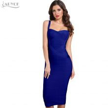 Adyce 2019 New Woman Bandage Dresses Yellow White Red Blue Pink Backless Club Dress Sexy Celebrity Bodycon Party Dress Vestidos