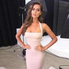 Adyce Summer Bandage Dress Women Vestidos 2019 New Sexy Bodycon Celebrity Evening Party Dresses Elegant Halter Midi Club Dress