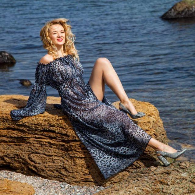 RICININA Slash Neck Summer Dress Women Elegant Long Sleeve Sexy Long Dresses Woman Sexy Beach Party Dress Vestidos Plus Size