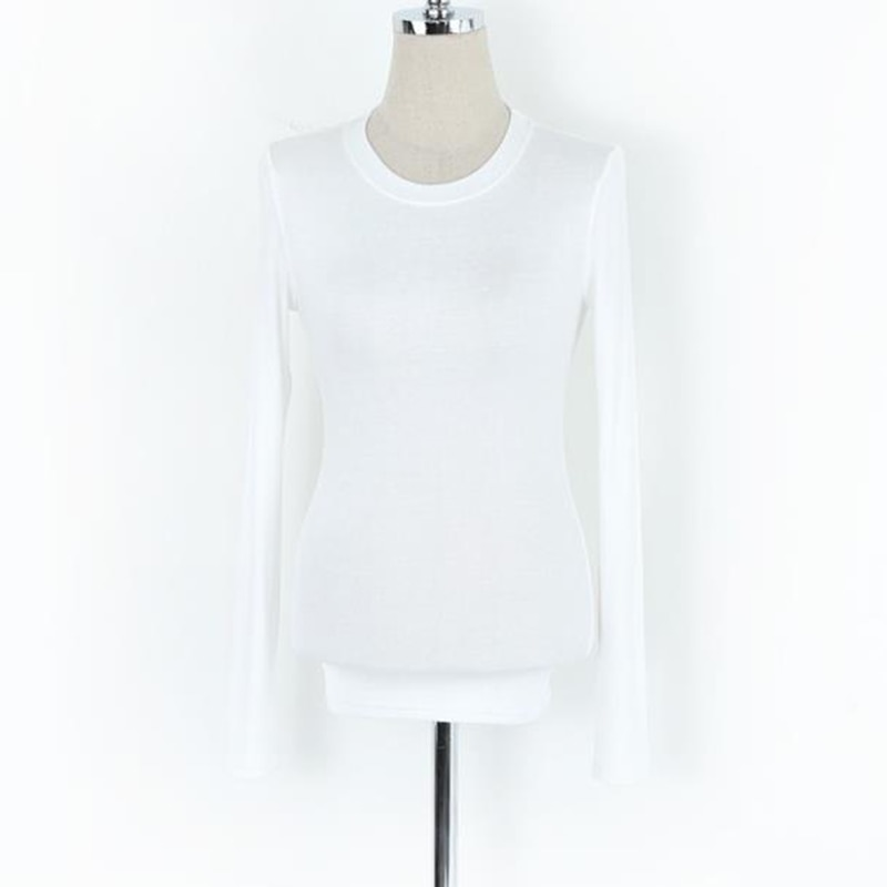 Korean Style T Shirt Women Slim Sexy Elasticity T-Shirt Casual Cotton And Rayon Tshirt Clothes Womens Tops 2018 Tee Shirt Femme