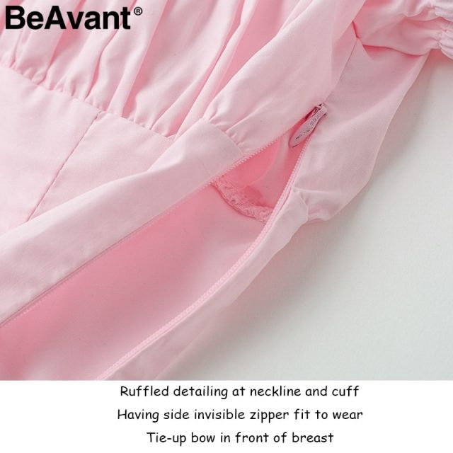 BeAvant 2018 Sexy slim pink bustier bralette tops Women off shoulder white crop tops tees Sweet ruffle summer tank tops camisole