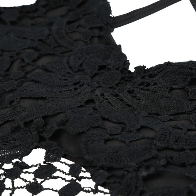 ANSELF 2019 Summer New Sexy Women Crop Top Knitted Crochet Bra Deep V Neck Spaghetti Strap Backless Camisole Bralette Beachwear