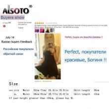 ALSOTO Winter and Summer style Brand women skirt elastic faldas ladies midi skirts Sexy Girl mini short skirts saia feminina