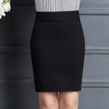 2019 New Women Skirt Work Fashion Stretch Slim High Waist Pencil Skirt Bodycon Sexy Mini Office Work Skirt Free Shipping