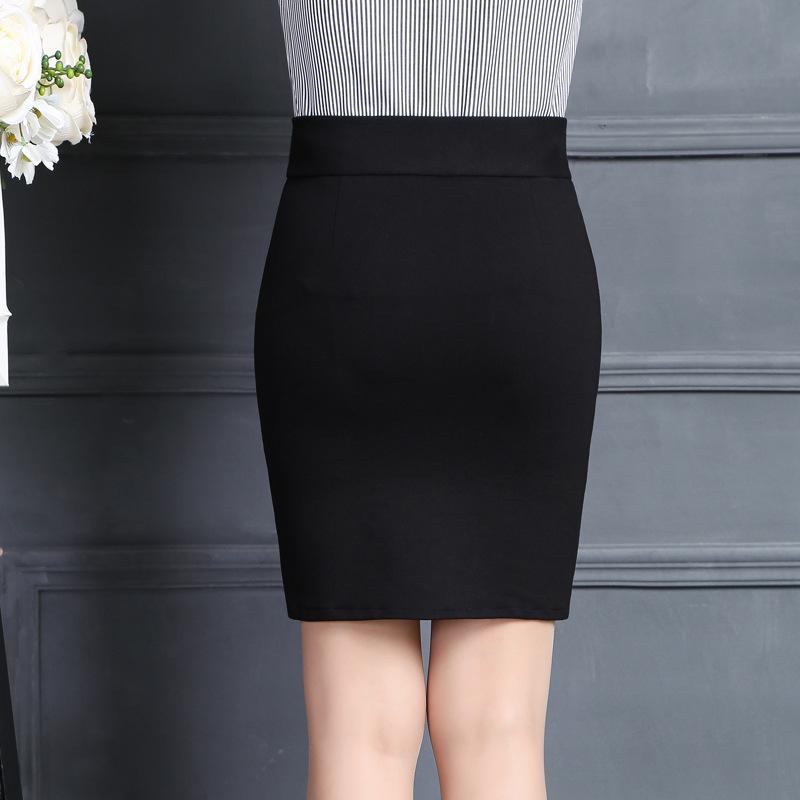 2019 New Women Skirt Work Fashion Stretch Slim High Waist Pencil Skirt Bodycon Sexy Mini Office Work Skirt Free Shipping