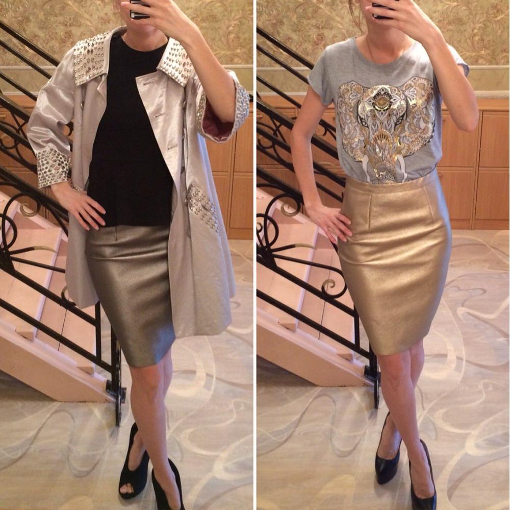 Neophil 2019 Sexy Faux Fur Leather Pu High Waist Midi Women Pencil Skirts XXL Office Wrap Bodycon Short Girls Tutu Saia S08019
