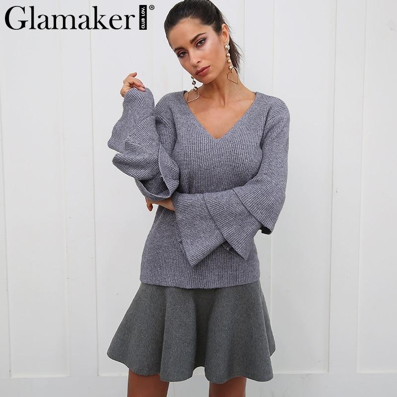 Glamaker Draped knitted short skirts women spring pleated mini skirt Elegant high waist female a-line streetwear summer skirt