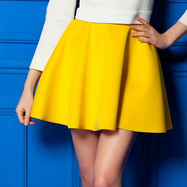 2018 Summer korean Pleated skirt sexy Skirt for Girls lady Short Skater women mini Skirt Bottoms candy colors plus styles