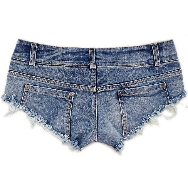 2018 New Fashion Sexy Shorts Women Jeans Super Mini Rock Denim Booty Hot Shorts Casual Vintage Ladies Club Party Short feminino