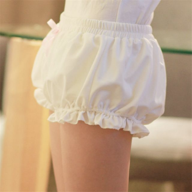 Free size Japan Harajuku soft women shorts femme feminino Lolita girl Kawaii cute pumpkin Pajamas pantalones cortos home cloth
