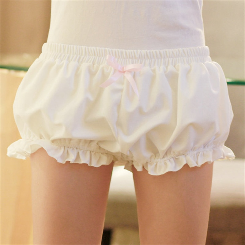 Free size Japan Harajuku soft women shorts femme feminino Lolita girl Kawaii cute pumpkin Pajamas pantalones cortos home cloth