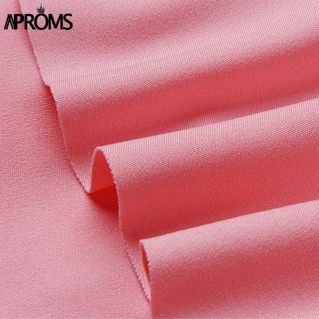 Aproms Yellow Pink Ruffles Shorts Skirts for Women 2019 Casual High Waist Shorts Ladies High Street Fashion Skort Pantalon Mujer